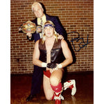 *Signed* J.J. Dillon with Barry Windham 8 x 10 Promo