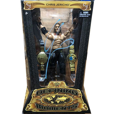 *Signed* Chris Jericho WWE Defining Moments Figure
