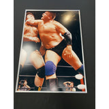 *Signed* Stan Hansen Tokyo Dome Retirement Photos