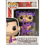 "*Signed and Inscribed* Razor Ramon ""The Bad Guy"" Regular Funko"