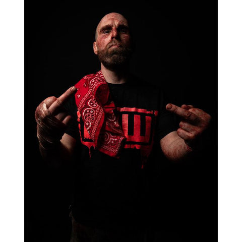 *Signed* Nick Gage Double Fingers 8 x 10 Promo