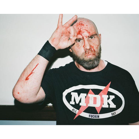 *Signed* Nick Gage Salute 8 x 10 Promo
