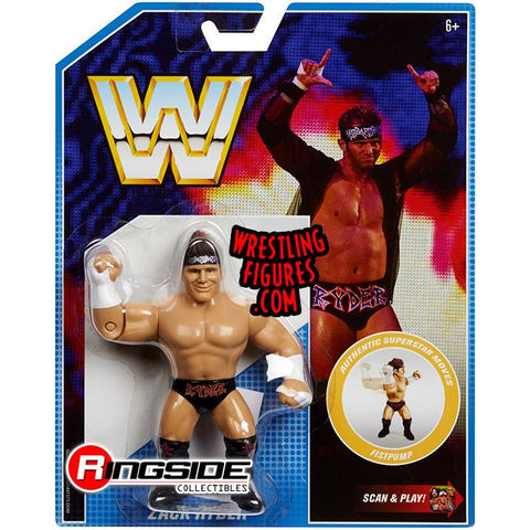 *Signed* Zack Ryder Retro Figure