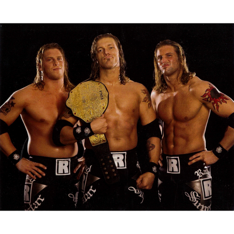 *Signed* Edgeheads Belt Pose Promo