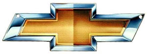 "Chevy Bow Tie GM Gold BowTie Metal Magnet Emblem Art Size: 6"" x 2"" Tool Box Great Gift Item"