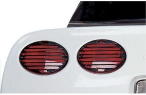 C5 Corvette Tail Louver Kit Euro Style Taillights Kit Fits: All 97 Through 04 Corvettes
