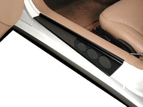 C5 Corvette Black Door Sill Guards Both Sides by Altec Fits: All 97 thru 04
