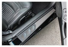 Load image into Gallery viewer, C5 Corvette Black Door Sill Guards Both Sides by Altec Fits: All 97 thru 04