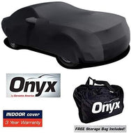 Mustang HIGH END Onyx Black Satin Custom Fit Stretch Indoor Car Cover 05 + Later