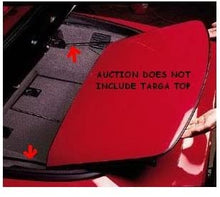 Load image into Gallery viewer, C4 Corvette Targa Top Slider Bars Fits: 84 Through 90 Corvette Coupes