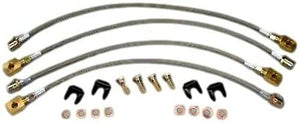 C5 Corvette Stainless Performance Brake Line Kit Fits: 97 thru 04