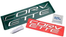 Load image into Gallery viewer, C5 Corvette Stainless Steel Front + Rear Bumper Letter Kit Combo 97 thru 04