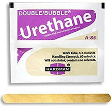 Load image into Gallery viewer, Urethane Purple Beige 3.5g Double Bubble Epoxy A-85 Packet Includes 100 Packs Hardman 04024