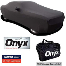 Load image into Gallery viewer, Challenger HIGH END Onyx Black Satin Custom Stretch Indoor Car Cover 08 + Later