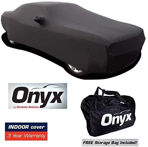 Challenger HIGH END Onyx Black Satin Custom Stretch Indoor Car Cover 08 + Later