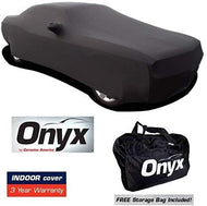 Challenger HIGH END Onyx Black Satin Custom FIT Stretch Indoor CAR Cover FITS: All 08 and Later Mopar CHALLENGERS