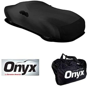 C6 Corvette HIGH END Onyx Black Satin Custom Stretch Indoor Car Cover 05 -13