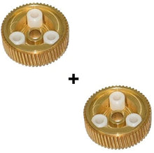 Load image into Gallery viewer, C4 Corvette 88-96 Headlight Motor Replacement Bronze Gear Upgrade Dual Kit