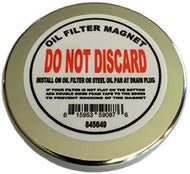 Universal Oil Filter Magnet Protect Our Performance Engine Fits: Most Cars and Trucks