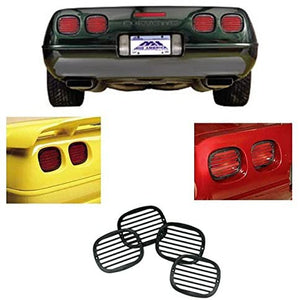C4 Corvette Tail Light Louver Cover Kit Fits: 91 thru 96 Corvettes