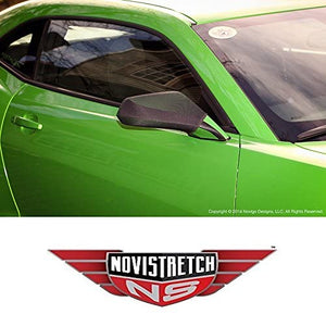 Camaro 5th Generation NoviStretch Mirror Bra Covers High Tech Stretch Mask Fits: All Camaros 2010 Thru 2015