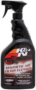 K&N Air Filter Large Size Service Kit Cleaner and Red Oil + Bonus 2 K&N Stickers