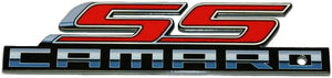 "Camaro Super Sport SS Metal Magnet Emblem Art Size: 6"" x 1.5"" Tool Box Great Gift Item"