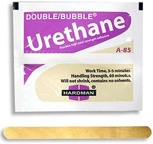 Urethane Purple Beige 3.5g Double Bubble Epoxy A-85 Packet Includes Ten Packs Hardman 04024
