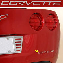 Load image into Gallery viewer, C6 Corvette Stainless Steel Rear Bumper Letter Kit Fits: All 05 thru 13