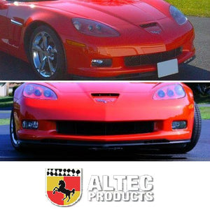 C6 Corvette GS ZO6 Front Power Retractable License Plate by Altec 06 thru 13