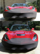 Load image into Gallery viewer, C7 Corvette Stingray NoviStretch Front + Mirror Bra High Tech Stretch Mask Combo Fits: All C7 2014 Through 2019 Corvettes Including Z51, ZO6 and GS