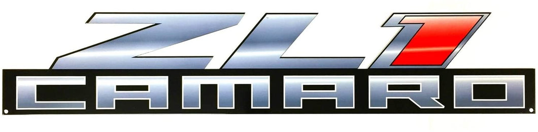 Camaro ZL1 Full Size Wall Emblem Art 34