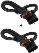 "Load image into Gallery viewer, C4 Corvette Oxygen O2 Sensor Extension Harness 24"" DUAL Kit OXYGEN0007 94-96"
