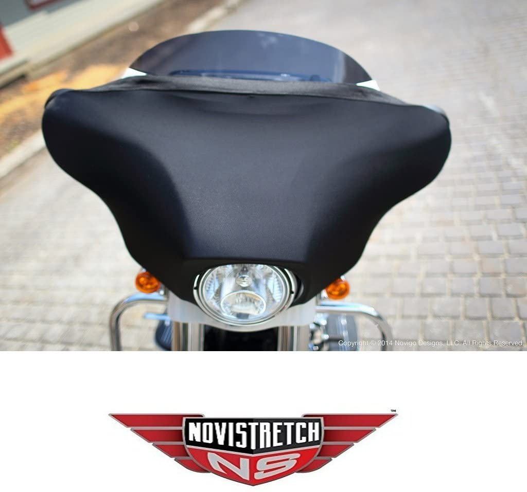 Harley NoviStretch Bat-Wing Fairing Mesh Mask Bra Fits HD Touring Bat Wings