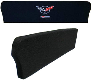 C5 Corvette ZO6 405HP Trunk Divider Partition w/ Z06 Embroidered Emblem 02-04