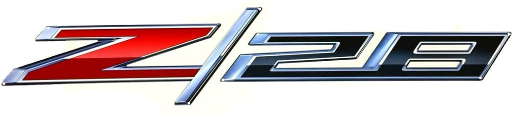 Camaro Z28 Full Size Wall Emblem Art 50