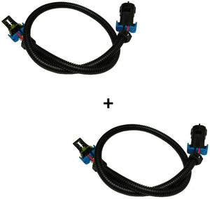 "C6 Corvette Oxygen O2 Sensor Extension Harness Full 24"" DUAL Kit OXYGEN0019 FITS: 05-13 LS2 LS3 LS7"