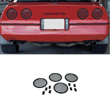 Load image into Gallery viewer, C4 Corvette Tail Light Louver Cover Kit Fits: 84 Through 90 Corvettes