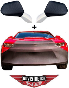 Camaro NoviStretch Front + Mirror Bra High Tech Stretch Mask Combo 2016 + Later