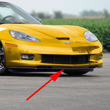 Load image into Gallery viewer, C6 Corvette GS ZO6 Front Chin Spoiler 2 Piece Fits: 06 thru 13 Grand Sport + Z06