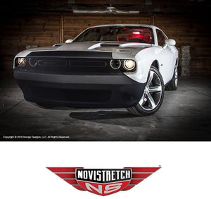 Challenger NoviStretch Front + Mirror Bra High Tech Stretch Mask Combo Fits: All 2008 and Newer 3rd Gen Challengers