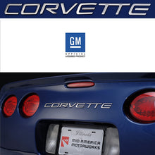 Load image into Gallery viewer, C5 Corvette Stainless Steel Rear Bumper Letter Kit Fits: All 97 through 04 Corvettes