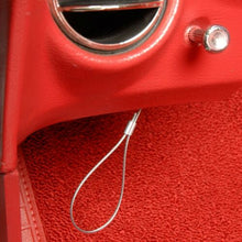 Load image into Gallery viewer, C3 Corvette Emergency Hood Release Cable Kit Fits: 77 thru 82