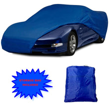 Load image into Gallery viewer, C5 Corvette Stingray Semi Custom Car Cover Blue 1997 thru 2004