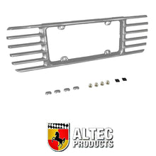 Load image into Gallery viewer, C5 Corvette Phantom Rear License Plate Frame GM Correct Sebring Silver Paint