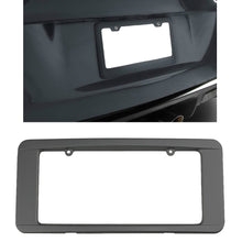 Load image into Gallery viewer, C6 Corvette Rear License Plate Frame in GM Correct Cyber Gray Paint Made by Altec Fits: All C6 Corvettes 05 Through 13