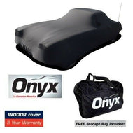 C1 Corvette HIGH END Onyx Black Satin Custom FIT Stretch Indoor CAR Cover FITS: All C1 53-62 CORVETTES