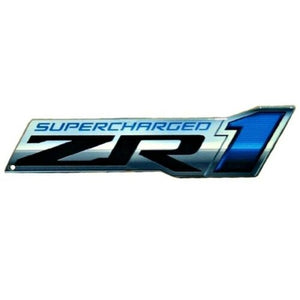 "C6 Corvette ZR1 Metal Magnet Emblem Art Size: 6"" x 2"" Tool Box 09 through 13 ZR1 638HP LS9"