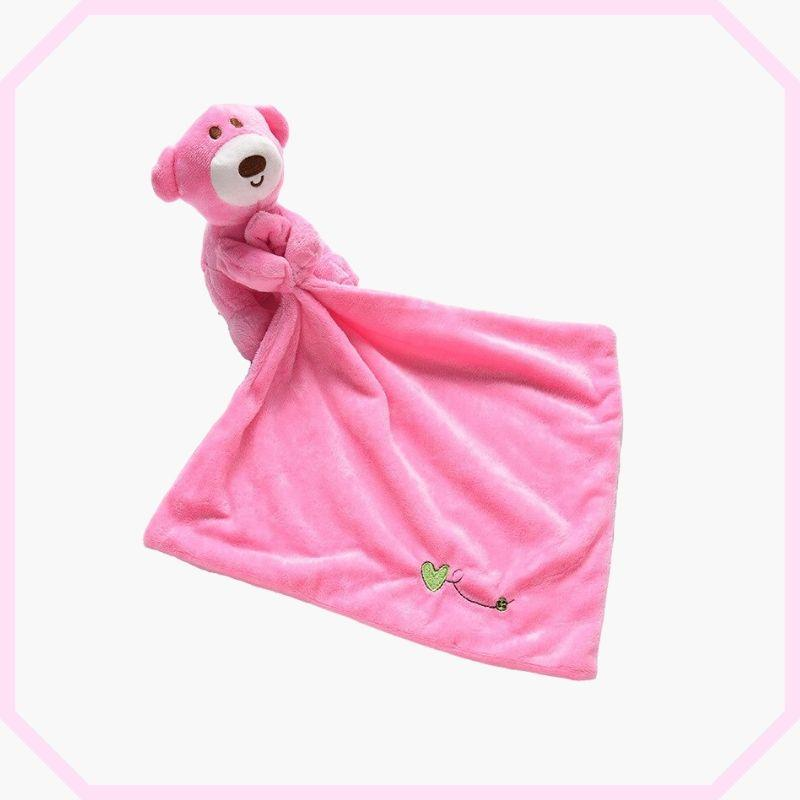 doudou ours rose rosa