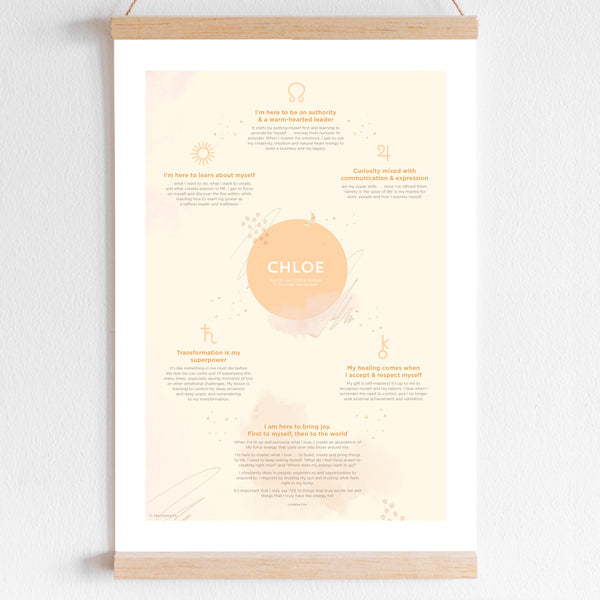 Soul Journey Poster ~ Cosmic Design